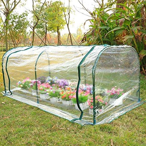7x3x3-Greenhouse-Mini-Portable-Gardening-Flower-Plants-Yard-Hot-House-Tunnel-0