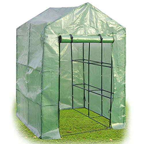8-Shelves-Greenhouse-Portable-Mini-Walk-In-Outdoor-Green-House-2-Tier-0-2