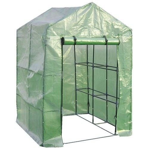 8-Shelves-Greenhouse-Portable-Mini-Walk-In-Outdoor-Green-House-2-Tier-0