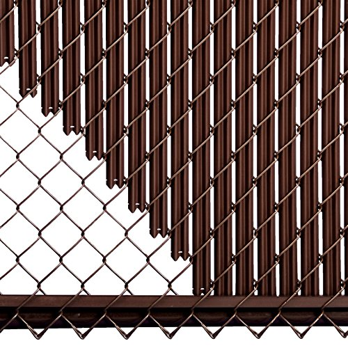 8ft-Brown-Ridged-Slats-for-Chain-Link-Fence-0-2