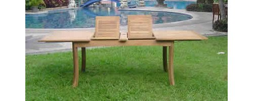 9-Pc-Grade-A-Teak-Wood-Dining-Set-117-Rectangle-Table-And-8-Granada-Stacking-Arm-Chairs-WFDSGR3-0-0
