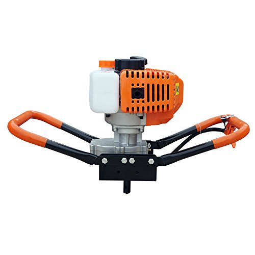 9TRADING-22-HP-Gas-Powered-Post-Hole-Digger-with-2-Auger-Bits-6-10-52CC-Power-EngineFree-TaxDelivered-Within-10-Days-0-2