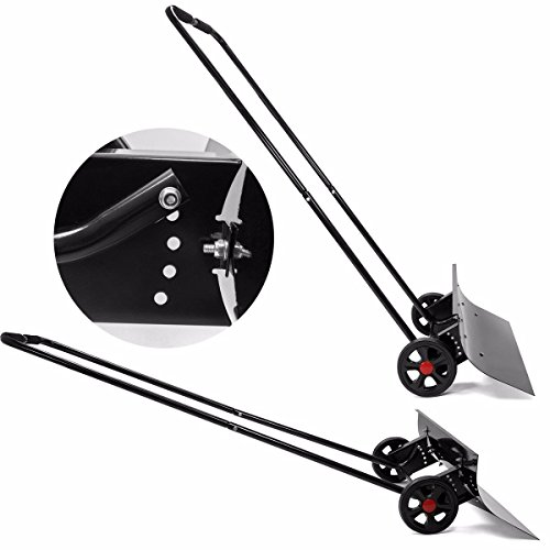 9TRADING-Adjustable-Angle-Snow-Wheeled-Shovel-Walk-Behind-Pusher-Angled-Wide-Steel-Blade-Free-Tax-Delivered-Within-10-Days-0-2