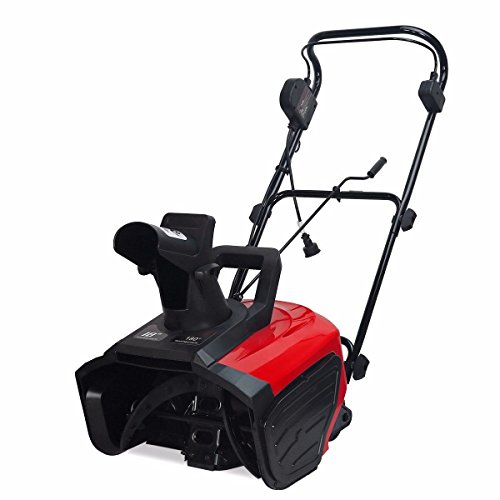 9TRADING-Home-Drive-Way-18-Inch-1600-watt-Electric-Snow-ice-Thrower-180-Adjustable-Chute-Free-Tax-Delivered-Within-10-Days-0