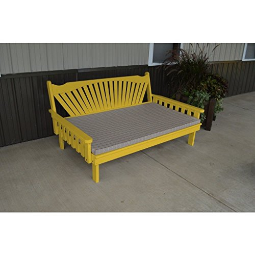 A-L-Furniture-Co-Yellow-Pines-6-Fanback-Daybed-Ships-Free-in-5-7-Business-Days-0-0