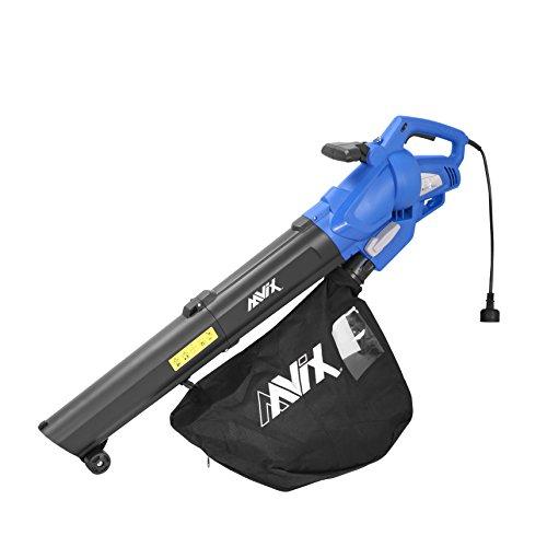 AAVIX-AGT309-12-Amp-All-in-One-BlowerMulcherVacuum-6-Speeds-Electric-Blower-Blue-0