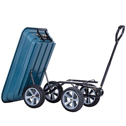 AK-Energy-4-Wheel-Tire-Utility-Garden-Yard-Dump-Cart-Wagon-Carrier-Wheelbarrow-10-PU-Caster-0-1