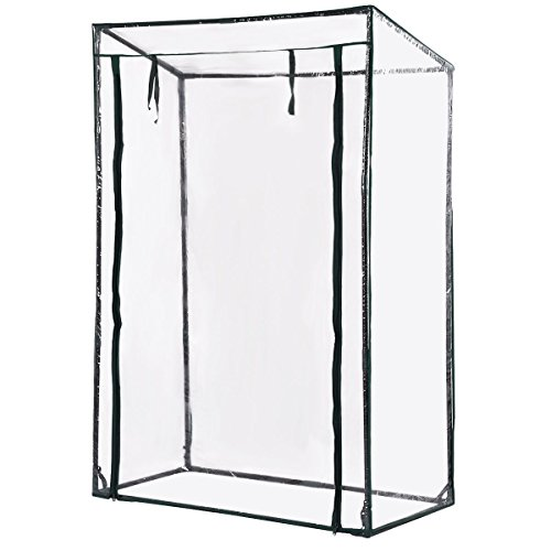 AK-Energy-59-Tall-Greenhouse-Plant-Vegetable-Flower-Garden-Clear-PVC-Plastic-Rain-Wide-Opening-Cover-0-1