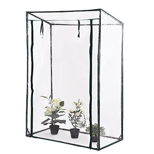 AK-Energy-59-Tall-Greenhouse-Plant-Vegetable-Flower-Garden-Clear-PVC-Plastic-Rain-Wide-Opening-Cover-0