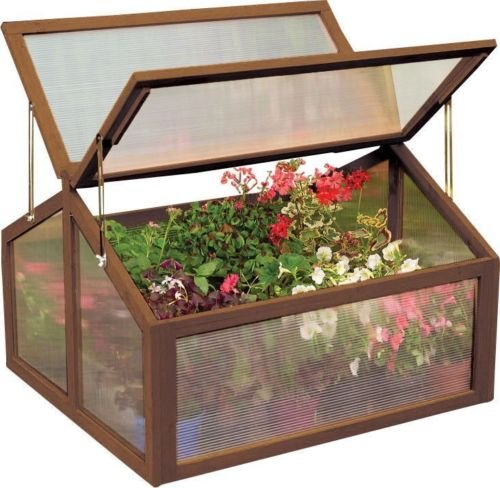 AK-Energy-Double-Box-Garden-Wooden-Green-House-Cold-Frame-Raised-Plants-Bed-Protection-Adjutable-Hinge-0-0