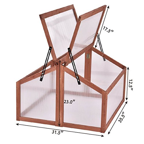 AK-Energy-Double-Box-Garden-Wooden-Green-House-Cold-Frame-Raised-Plants-Bed-Protection-Adjutable-Hinge-0-1