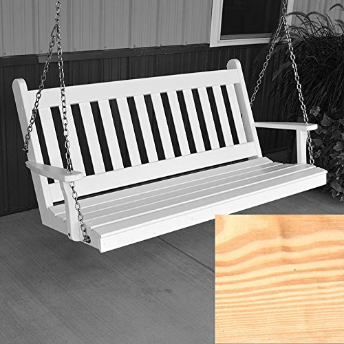 AL-Furniture-Co-Traditional-English-Porch-Swing-6-Foot-Unfinished-0