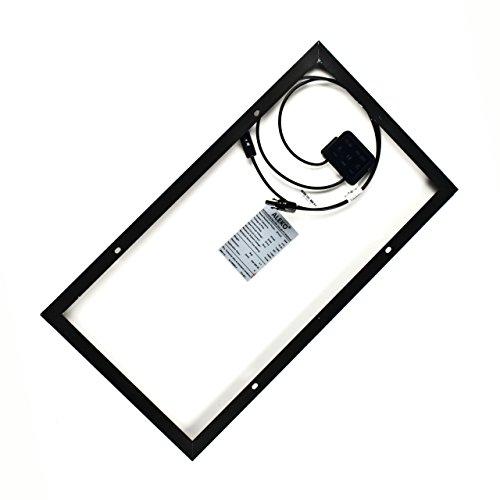 ALEKO-SPU30W12V-30-Watt-12-Volt-Monocrystalline-Solar-Panel-for-Gate-Opener-Pool-Garden-Driveway-0-0