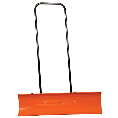 AM-Leonard-Poly-Blade-Wheeled-SnoMover-Snow-Pusher-36-Inches-OrangeBlack-0-0