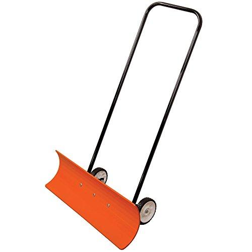 AM-Leonard-Poly-Blade-Wheeled-SnoMover-Snow-Pusher-36-Inches-OrangeBlack-0