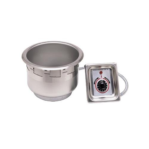 APW-Wyott-4-Qt-Round-Drop-In-Soup-Well-w-E-Z-Lock-wDrain-SM-50-4D-0
