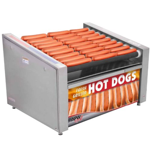 APW-Wyott-HRS-50SBW-Hot-Dog-Grill-with-Bun-Warmer-HotRod-Roller-Type-34-34-W-x-0