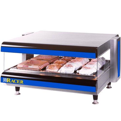 APW-Wyott-Racer-Horizontal-Countertop-Single-Shelf-Display-Merchandiser-18-18-x-60-x-27-14-inch-1-each-0