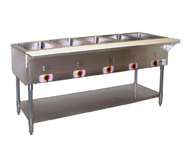 APW-Wyott-ST-4S-Stationary-Electric-Champion-Hot-Well-Steam-Table-0