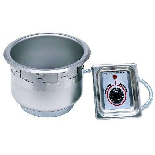 APW-Wyott-Stainless-Steel-Drop-In-Round-Soup-Well-7-Quart-1-each-0