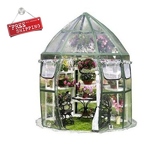 ATS-Portable-Greenhouse-Patio-Small-Greenhouse-Shelving-Sheeting-Pannels-Garden-Flowerhouse-Backyard-Outdoor-Home-eBook-by-AllTim3Shopping-0-0