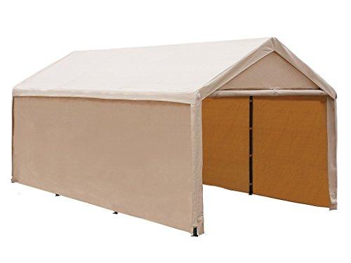 Abba-Patio-10-x-20-Feet-Heavy-Duty-Carport-Car-Canopy-Shelter-with-Windows-and-Sidewalls-0