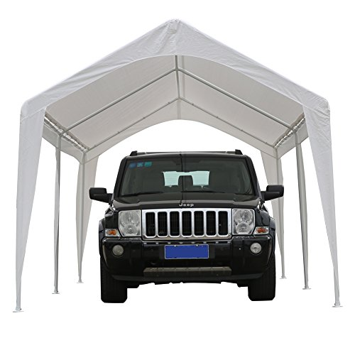 Abba-Patio-10-x-20-Feet-Outdoor-Carport-Canopy-with-6-Steel-Legs-0-1