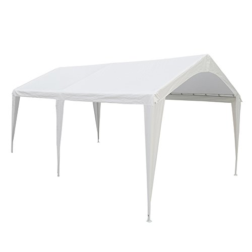 Abba-Patio-10-x-20-Feet-Outdoor-Carport-Canopy-with-6-Steel-Legs-0
