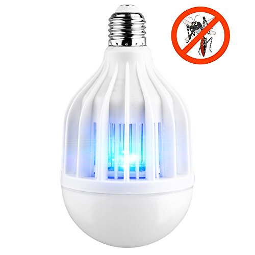 AcTopp-3-in-1-Bug-Zapper-2017-Upgraded-Bulb-85V-265V-Mosquito-Killer-Bug-Zapper-Light-Bulb-IndoorOutdoor-Lighting-Flying-Insects-Wasp-Moths-Bug-Killer-Removable-for-Easy-Cleaning-Brush-Included-0-0