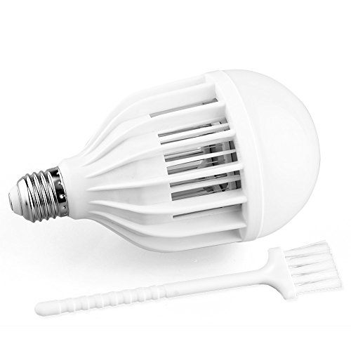 AcTopp-3-in-1-Bug-Zapper-2017-Upgraded-Bulb-85V-265V-Mosquito-Killer-Bug-Zapper-Light-Bulb-IndoorOutdoor-Lighting-Flying-Insects-Wasp-Moths-Bug-Killer-Removable-for-Easy-Cleaning-Brush-Included-0-1