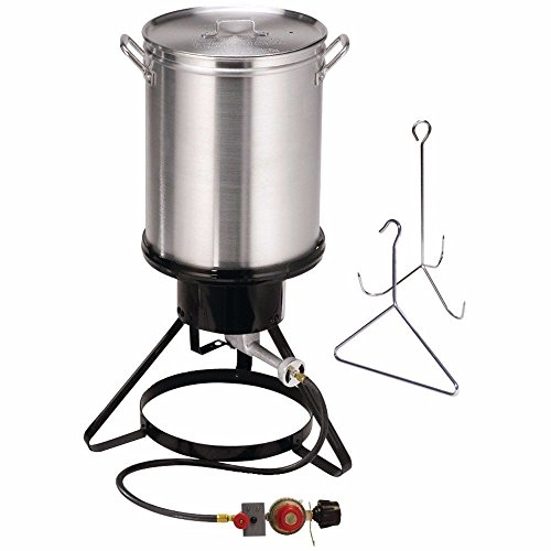 Adumly-Set-of-6pc-stove-Turkey-deep-Fryer-Kit-Aluminum-Pot-Outdoor-Propane-Backyard-30Qt-0