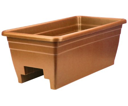 Akro-Mils-SPX24DB0E24-Clay-Rail-Planter-0