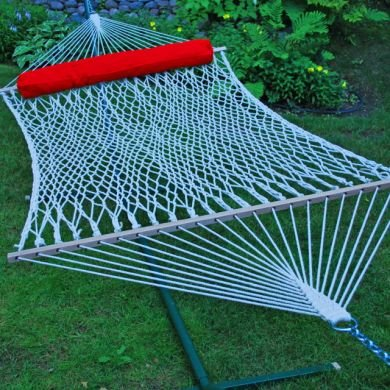Algoma-2-Person-Cotton-Rope-Hammock-with-Pillow-0