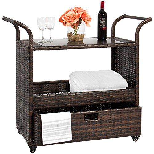 Alitop-Outdoor-Patio-Wicker-Serving-Bar-Cart-0