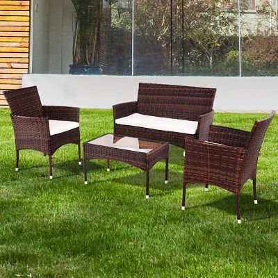Allblessings-4PCS-Patio-PE-Rattan-Wicker-Table-Shelf-Sofa-Outdoor-Furniture-Set-with-Cushion-for-Leisure-0-0