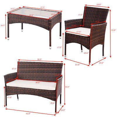 Allblessings-4PCS-Patio-PE-Rattan-Wicker-Table-Shelf-Sofa-Outdoor-Furniture-Set-with-Cushion-for-Leisure-0-2