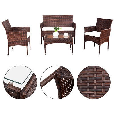 Allblessings-4PCS-Patio-PE-Rattan-Wicker-Table-Shelf-Sofa-Outdoor-Furniture-Set-with-Cushion-for-Leisure-0