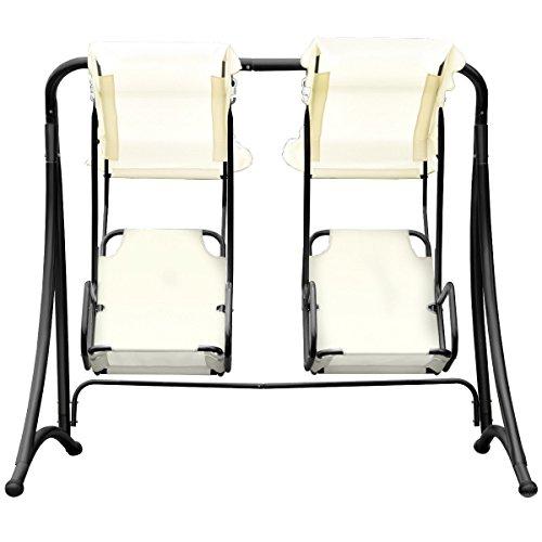 Almacn-2-Persons-Outdoor-Canopy-Loveseat-Patio-Swing-Chair-Glider-Hammock-Patio-Yard-Backyard-Lawn-Deck-Garden-Porch-Pool-Side-Furniture-Heavy-Duty-Steel-Frame-300LBS-Weight-Capacity-Per-Chair-0-1