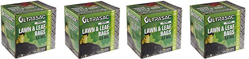 Aluf-Plastics-769646-Ultrasac-Heavy-Duty-Professional-Quality-Lawn-and-Leaf-Trash-Bag-39-Gallon-Capacity-43-Length-x-33-Width-Black-Case-of-100-4-Case-of-100-0
