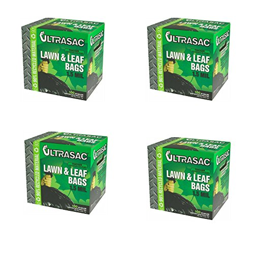 Aluf-Plastics-Ultrasac-39-Gal-Lawn-and-Leaf-Bags-100-Count-39-Gallon-4-Pack-0