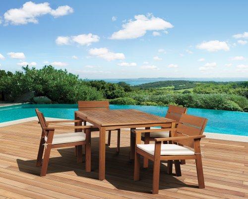 Amazonia-5-Piece-Nelson-Eucalyptus-Rectangular-Dining-Set-0-0