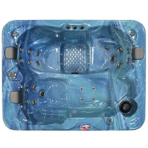 American-Spas-AM-534LP-3-Person-34-Jet-Longer-Spa-with-Bluetooth-Stereo-System-0