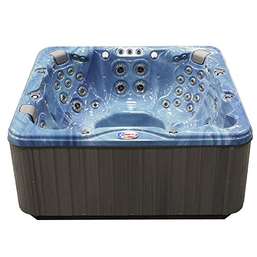 American-Spas-AM-756LP-6-Person-56-Jet-Lounger-Spa-with-Bluetooth-Stereo-System-0-0