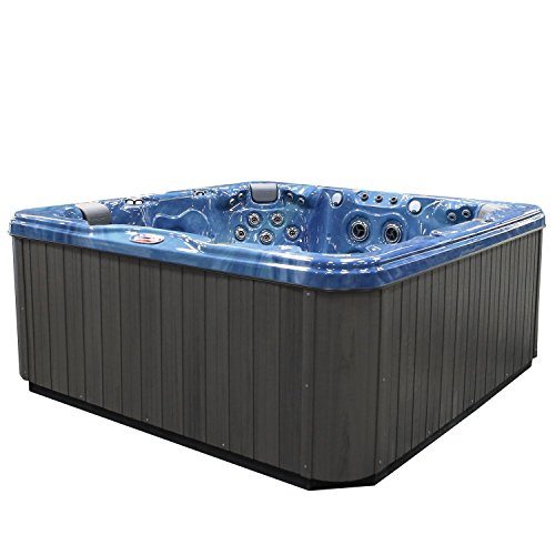 American-Spas-AM-756LP-6-Person-56-Jet-Lounger-Spa-with-Bluetooth-Stereo-System-0-1