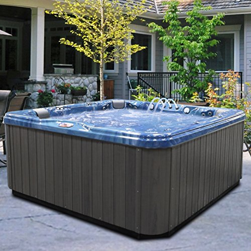 American-Spas-AM-756LP-6-Person-56-Jet-Lounger-Spa-with-Bluetooth-Stereo-System-0-2