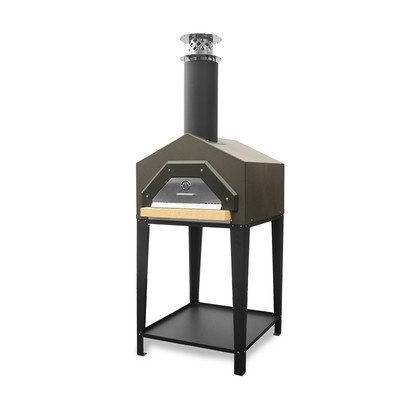 Americano-Pizza-Oven-on-Stand-Color-Dark-Roast-0