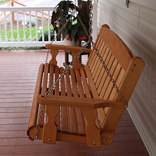 Amish-Heavy-Duty-800-Lb-Mission-5ft-Treated-Porch-Swing-Cedar-Stain-0-1
