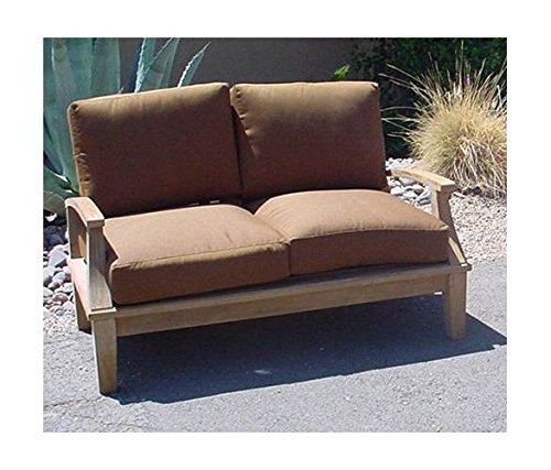 Anderson-Teak-Brianna-Deep-Seating-Loveseat-w-Cushion-Unfinished-Canvas-True-Blue-0