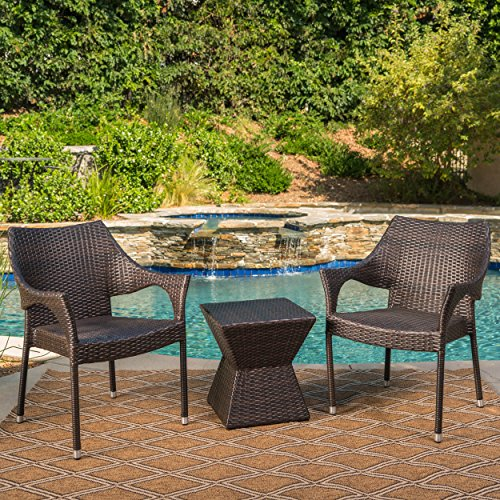 Arlost-Outdoor-3-Piece-Muttibrown-Wicker-Chat-Set-with-Stacking-Chairs-and-Square-Side-Table-0-0