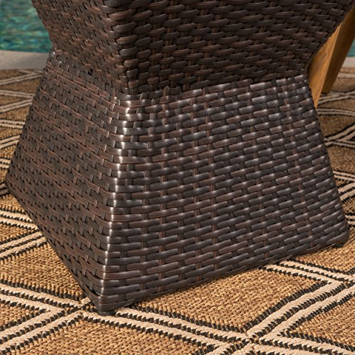 Arlost-Outdoor-3-Piece-Muttibrown-Wicker-Chat-Set-with-Stacking-Chairs-and-Square-Side-Table-0-2